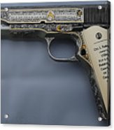 Colt 1911 Acrylic Print