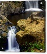 Columba River Gorge Falls 2 Acrylic Print
