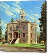 Columbia County Courthouse Acrylic Print