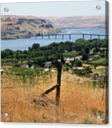 Columbia River - Biggs And Maryhill State Park Acrylic Print