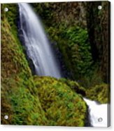 Columbia River Gorge Falls 1 Acrylic Print