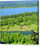 Columbia River Gorge View Acrylic Print