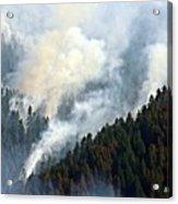 Columbia River Gorge Wildfire 2017 Acrylic Print