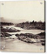 Columbia River: Kettle Falls Acrylic Print