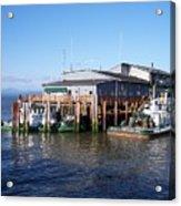 Columbia River Port Acrylic Print