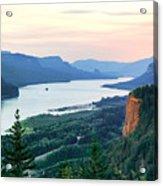 Columbia River With Vista House Acrylic Print