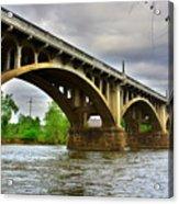 Columbia S C Gervais Street Bridge Acrylic Print