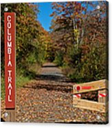 Columbia Trail Entrance Acrylic Print