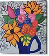 Columbia Valley Grapevine  Acrylic Print