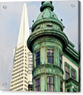 Columbus Avenue - San Francisco, California Acrylic Print
