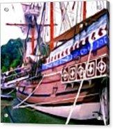 Columbus Day Celebration Acrylic Print