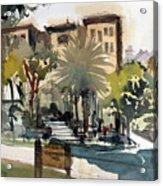 Columbus Park Bayshore Tampa Acrylic Print
