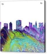 Columbus Skyline 3 Acrylic Print