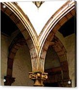 Column And Arch Acrylic Print