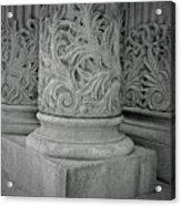 Column Of Mount Vernon Place Acrylic Print