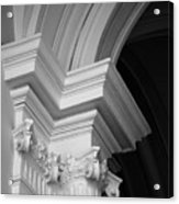 Columns At Hermitage Acrylic Print
