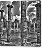 Columns Of Support Acrylic Print
