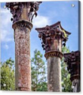 Columns Of Windsor Ruins Acrylic Print