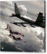 Combat Air Patrol Acrylic Print