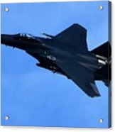 Combat Jet Acrylic Print
