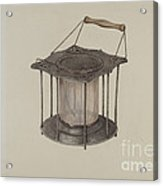 Combined Stove And Lantern Acrylic Print