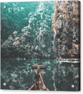 Come In My Paradise Acrylic Print