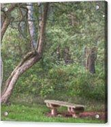 Come Sit With Me Awhile Acrylic Print