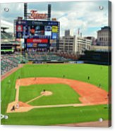 Comerica Park, Home Of The Detroit Tigers Acrylic Print