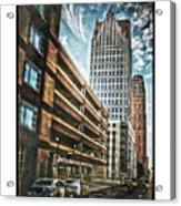Comerica Tower Acrylic Print