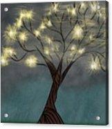 Comet Tree Acrylic Print