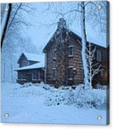 Comfort From The Cold Acrylic Print