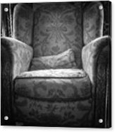 Comfy Chair By The Window Acrylic Print