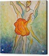 Comic Ballet Acrylic Print