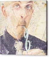 Comic Soda Poster Acrylic Print