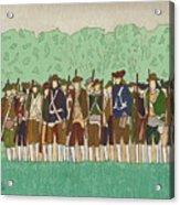 Committeemen On The Green Acrylic Print