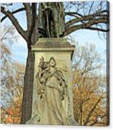 Commodore John Barry Monument Acrylic Print