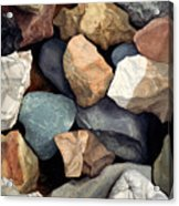 Common Stone Acrylic Print