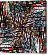 Communal Branches Acrylic Print