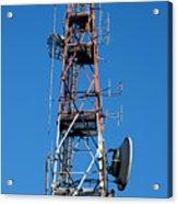 Communications Tower Acrylic Print
