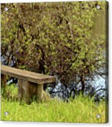 Communing With Nature Acrylic Print