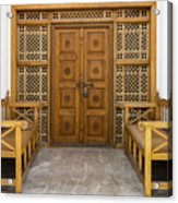 Community Doorway Acrylic Print