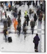 Commuter Art Abstract Acrylic Print