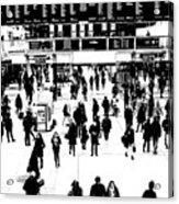 Commuter Art London Sketch Acrylic Print