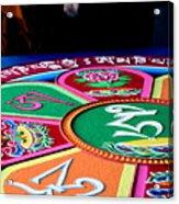 Compassion Mandala Acrylic Print
