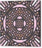 Complex Geometric Abstract Acrylic Print