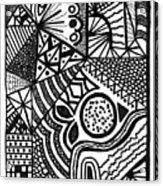 Complex Perception Acrylic Print