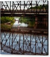 Complex Reflections  Acrylic Print