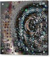Complexity City Acrylic Print