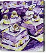 Complimentary Brownies Acrylic Print