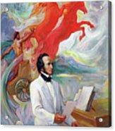 Composer Felix Mendelssohn Acrylic Print